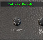 Melodic Electric Glockenspiel (Front View) - Delicia